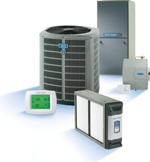 American Standard Heating & Air Conditioning, thermostat, humidifier, AccuClean air filtration
