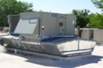 American Standard rooftop package heat cool unit