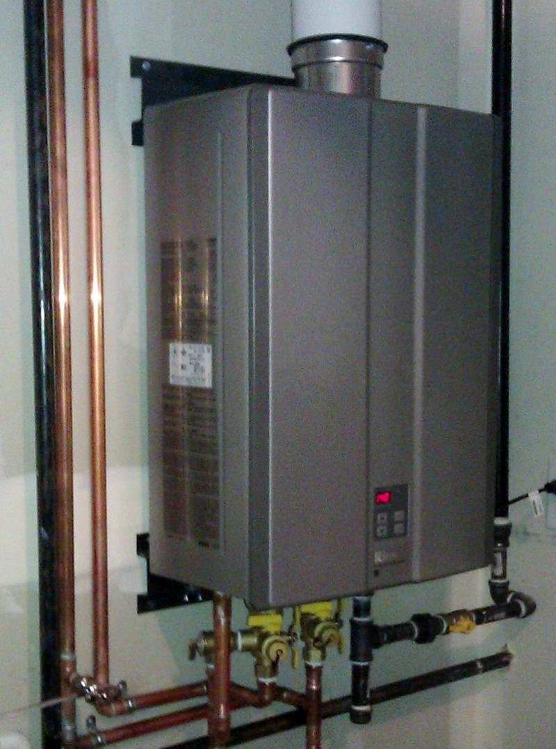 Mounting Tankless Water Heater : Rinnai tankless water heaters denver winair co